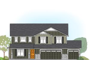 Rutherford 2538 Floor Plan Image