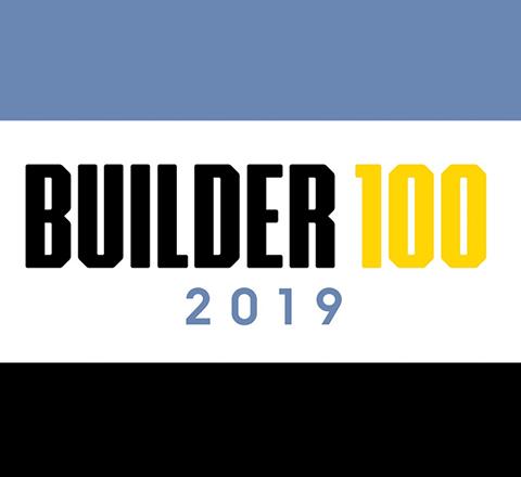 2019 Builder 100 list