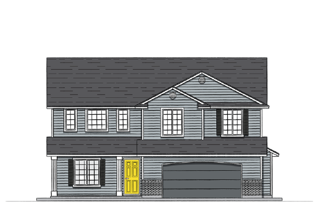 Rutherford 2538 Elevation