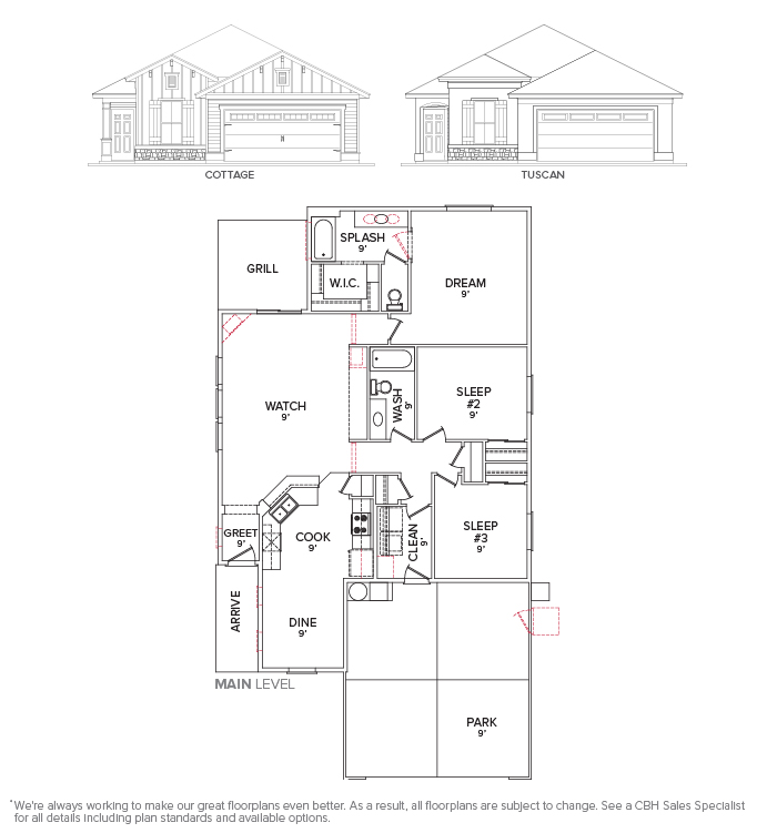 Malory 1445 Floor Plan Layout