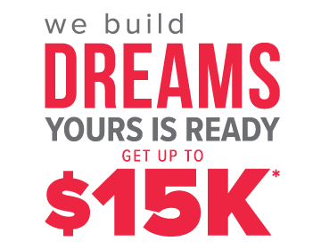 Get up to $15K towards closing costs, window coverings, landscaping, refrigerator, and washer & dryer!